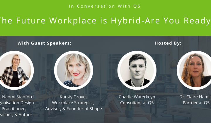 The Future Workplace is Hybrid