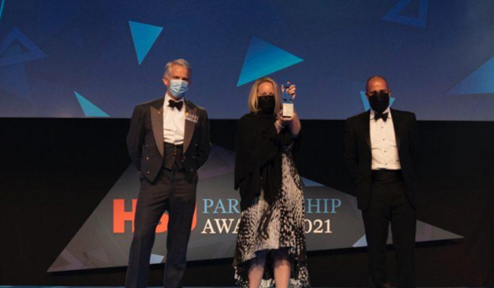 Winner of the Regional Covid-19 Response Partnership Award 2021