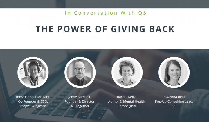 The Power of Giving Back